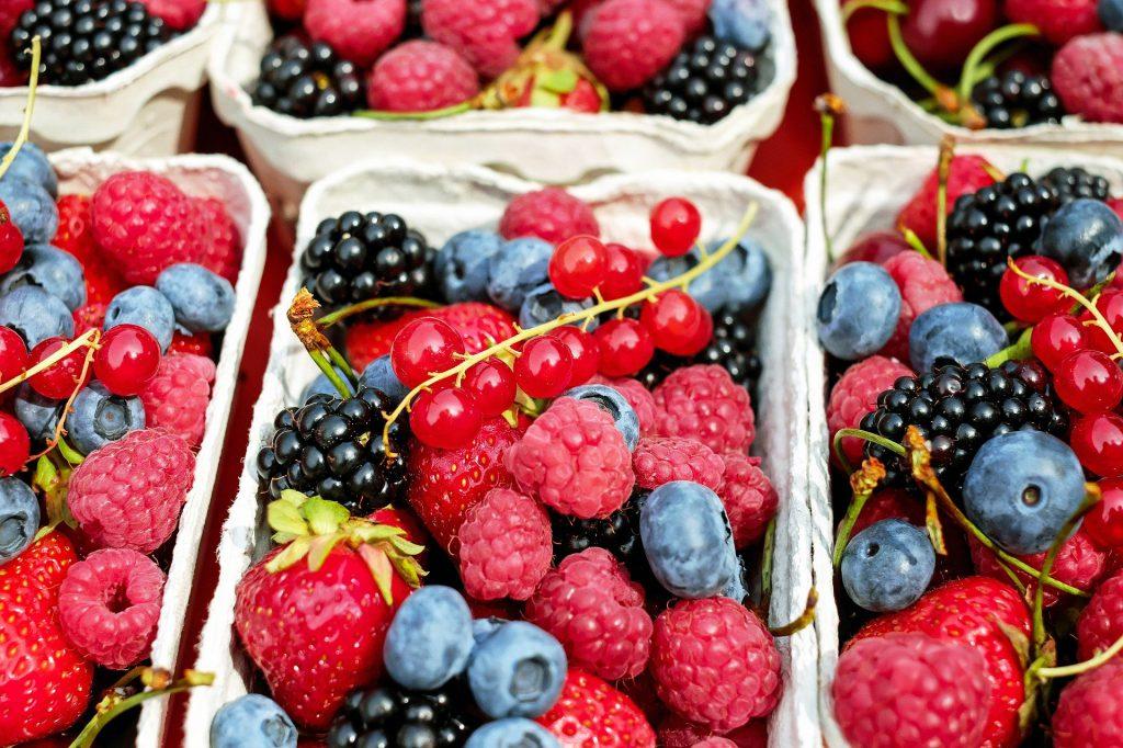 Fruchtzucker aus Beeren